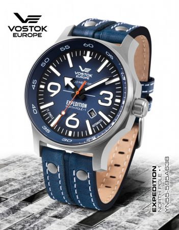 Vostok Europe Expedition Nort Pole YN55-595A638 férfi karóra